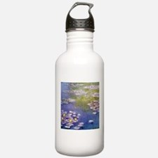Nympheas at Giverny Water Bottle