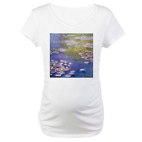 Nympheas at Giverny Maternity T-Shirt