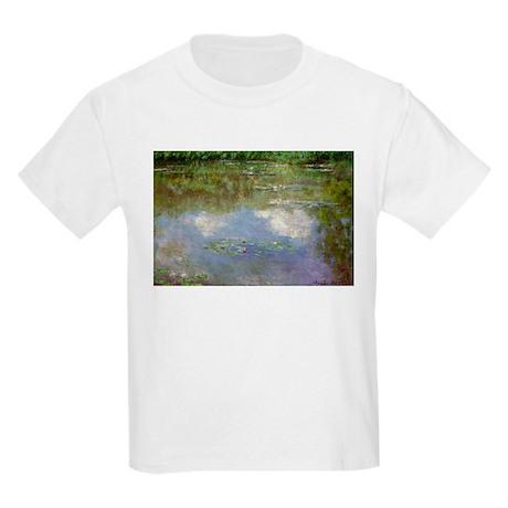 Water Lillies (The Clouds) Kids Light T-Shirt
