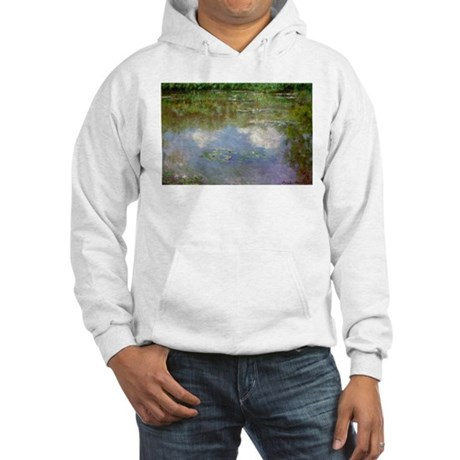 Water Lillies (The Clouds) Hooded Sweatshirt