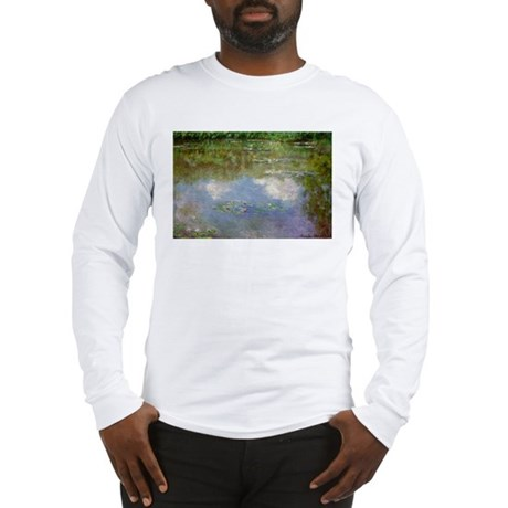 Water Lillies (The Clouds) Long Sleeve T-Shirt
