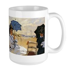 Beach at Trouville Mug