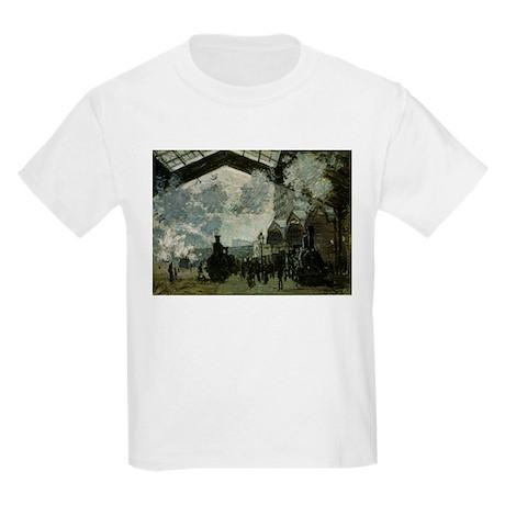 Saint Lazare Station Kids Light T-Shirt