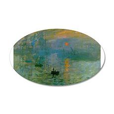 Impression, Sunrise 22x14 Oval Wall Peel