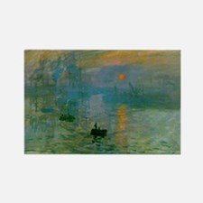 Impression, Sunrise Rectangle Magnet