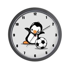 I Like Soccer Wall Clock