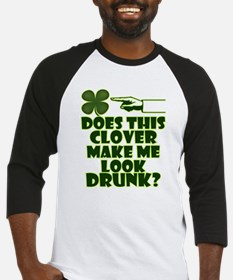 Does This Clover Make Me Look Drunk? Baseball Jers