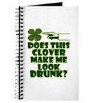 Does This Clover Make Me Look Drunk? Journal