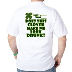 Does This Clover Make Me Look Drunk? T-Shirt