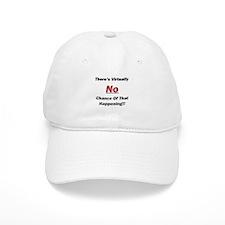 Virtually No Chance Baseball Cap