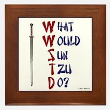 What Would Sun Tzu Do? Framed Tile