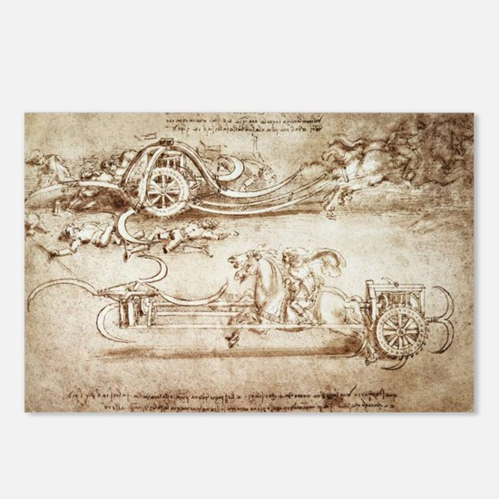 Assault Chariot with Scythes Postcards (Package of