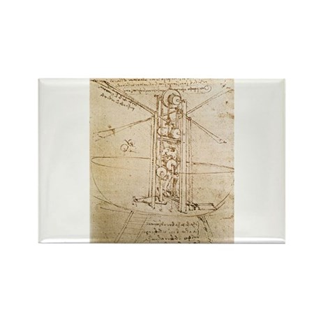 Design for Flying Machine Rectangle Magnet (10 pac