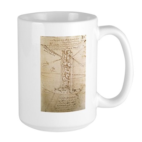 Design for Flying Machine Large Mug