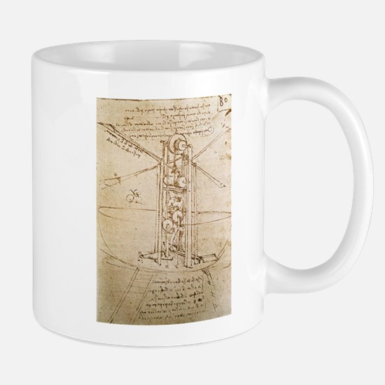 Design for Flying Machine Mug
