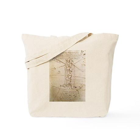 Design for Flying Machine Tote Bag