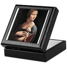 Lady with an Ermine Keepsake Box