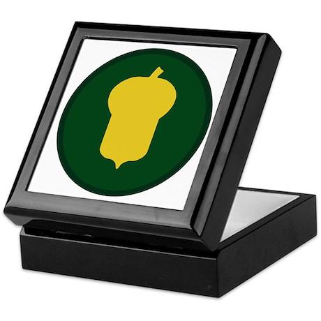 Golden Acorn Keepsake Box