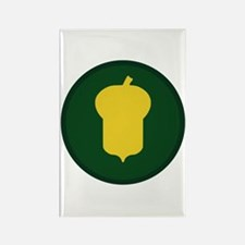 Golden Acorn Rectangle Magnet