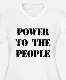 Power to the People Women's Plus Size T-Shirt