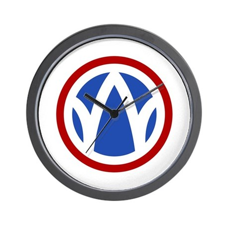 The Rolling W Wall Clock