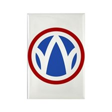 The Rolling W Rectangle Magnet (10 pack)