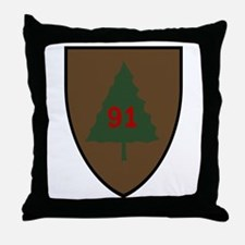 Pine Tree Throw Pillow