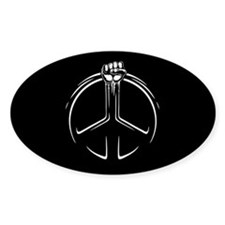 Peace Power Decal