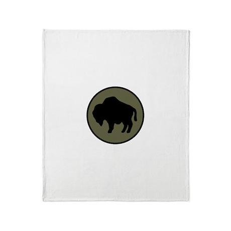 Buffalo Soldiers Throw Blanket