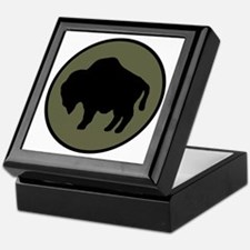 Buffalo Soldiers Keepsake Box