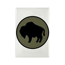 Buffalo Soldiers Rectangle Magnet
