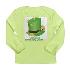 St. Patricks Day Lucky Charm/ Long Sleeve Infant T