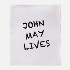 V: John May Lives! Throw Blanket