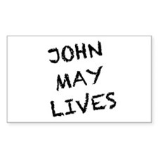 V: John May Lives! Decal