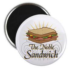 The Noble Sandwich Magnet
