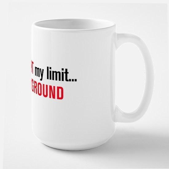 The Sky is NOT my Limit Pilot Mug (Large)