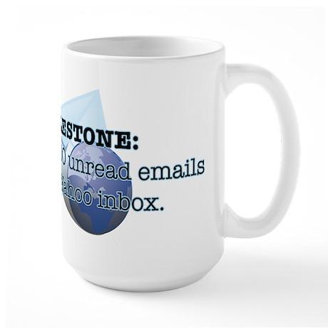Email Milestone Large Mug