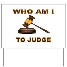 JUDGEMENT DAY Yard Sign