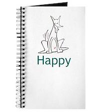 Happy Dog/Red Rocket Journal