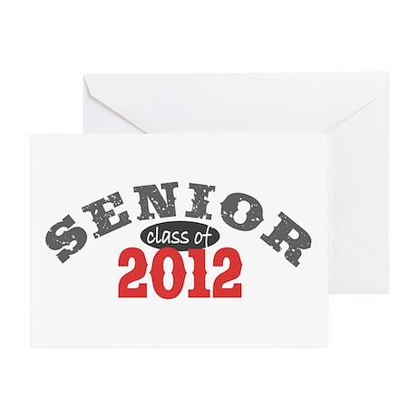 Senior Class of 2012 Greeting Card