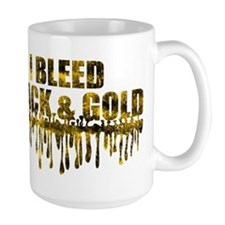 Bleed Black & Gold Mug