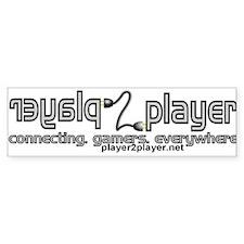 Player2Player Network Bumper Bumper Sticker