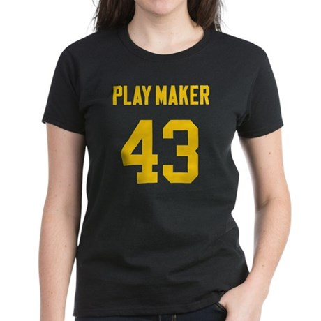 Play Maker 43 Women's Dark T-Shirt
