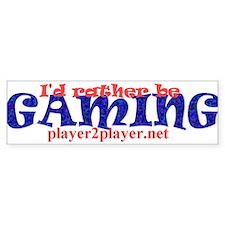 Gaming Bumper Bumper Sticker