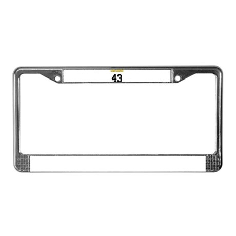 Game Changer 43 License Plate Frame