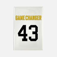 Game Changer 43 Rectangle Magnet