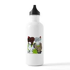 Feather-legged Bantams Water Bottle