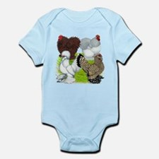 Feather-legged Bantams Infant Bodysuit