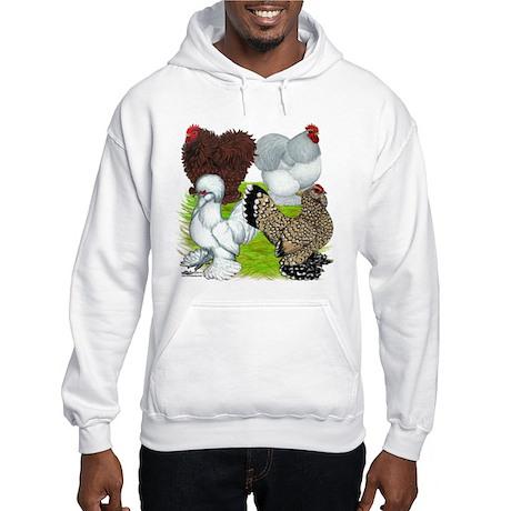 Feather-legged Bantams Hooded Sweatshirt