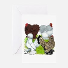 Feather-legged Bantams Greeting Cards (Pk of 10)